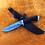 """Thumbnail: Дамасский нож """"Уссуриец"""" с литьем из мельхиора"""