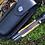 """Thumbnail: Нож кованый складной """"СОРМОВСКИЙ"""" с клинком из дамасской стали"""