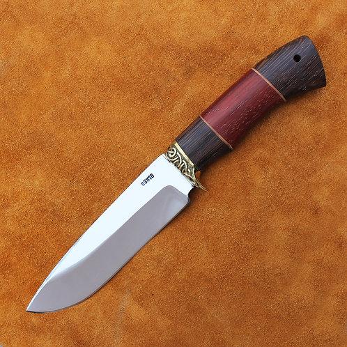 """Кованый нож """"Морж"""" из стали 95х18"""