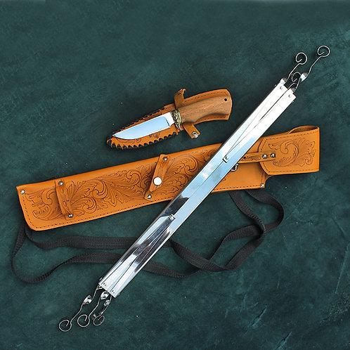 Шашлычный набор с ножом №1