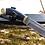 """Thumbnail: Нож """"Лось"""" дамасская сталь с литьем из латуни"""