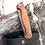 """Thumbnail: Нож складной """"СТРАЖ"""" с клинком из дамасской стали"""