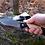 Thumbnail: Нож складной Ястреб с рукоятью  из карельской березы