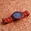 Thumbnail: Деревянные наручные часы  Красный сандал