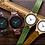 "Thumbnail: Деревянные наручные часы ""Зеленый сандал"""