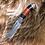 """Thumbnail: Нож """"Таежный"""" дамасская сталь с литьем из мельхиора"""