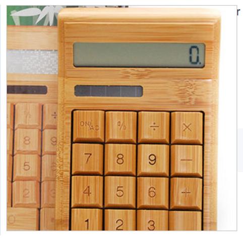 Калькулятор из бамбука