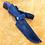 "Thumbnail: Кованый нож ""Уссуриец"" со следами ковки"