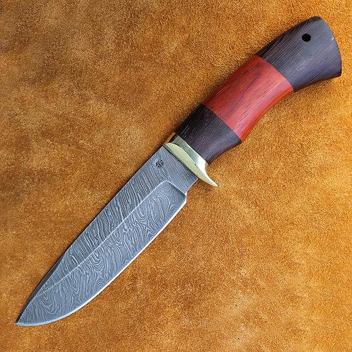 """Дамасский нож """"Морж"""""""