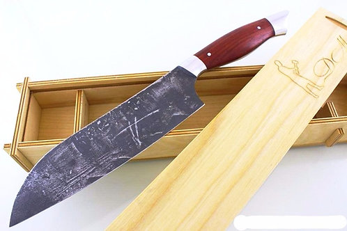 "Нож ""Сантоку"" из стали 95х18, цельнометаллический"