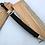 Thumbnail: Бебут кованый с резьбой с литьем из мельхиора