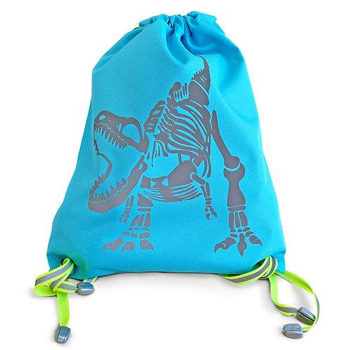 Рюкзак-мешок tilla TBG-002-20, со светоотражающим динозавром
