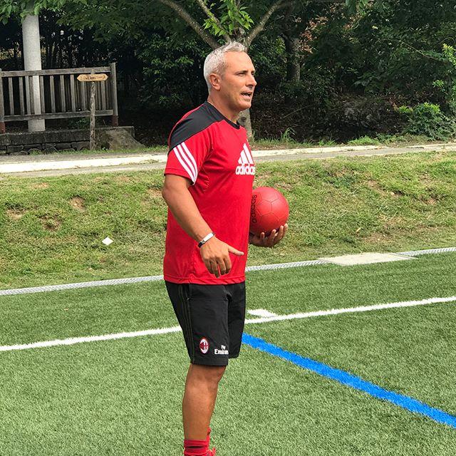 今年のミランキャンプは静岡・藤枝からスタート!_3日間で「サッカーを楽しむ」とは