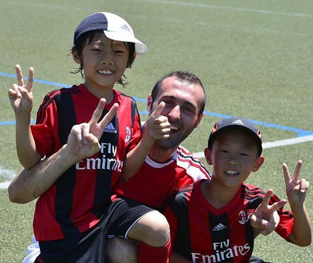 サッカーは楽しみ!!_この夏はACミランジュニアキャンプへ!__ACミラン#we