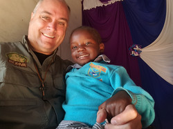 Holding a child of Hope