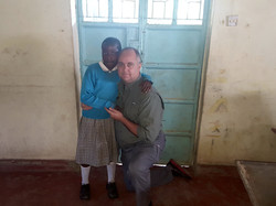 With an orphan child
