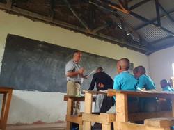 Jason teaching class