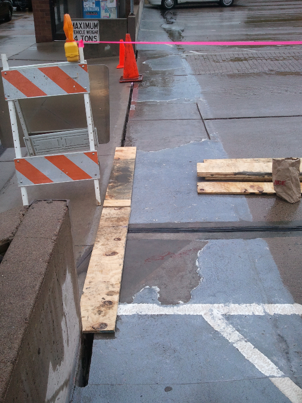 Expansion Joint Repairs