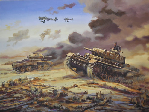 Panzer 3 in the Desert