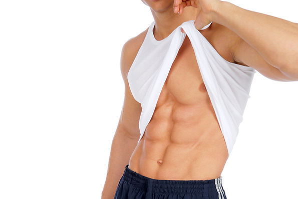 man-demonstrate-his-abdome-muscles-isola