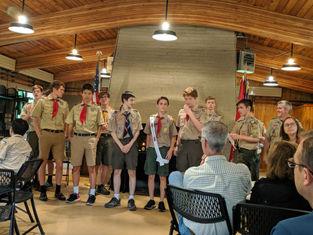 Court of Honor June 2019