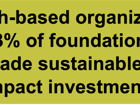 How are Institutional Investors Thinking about Impact Investing?