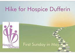 Hike For Hospice Dufferin logo