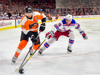 Frese Frame: Philadelphia Flyers vs. New York Rangers, April 7, 2018