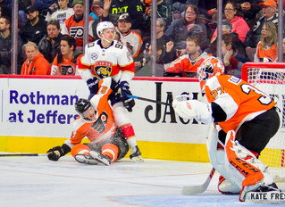 Frese Frame: Philadelphia Flyers vs. Florida Panthers, November 13, 2018