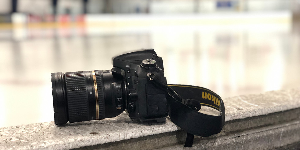 December 27, 2019: Group Ice Hockey Photography Lessons