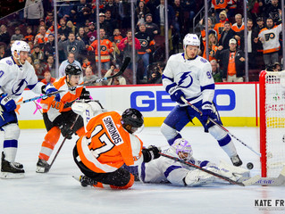 Frese Frame: Philadelphia Flyers vs. Tampa Bay Lightning, November 18, 2018