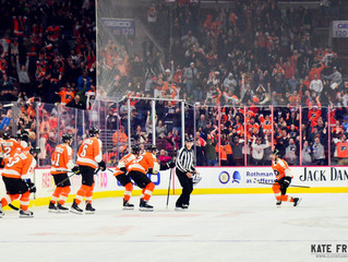 Frese Frame: Philadelphia Flyers vs. Arizona Coyotes, November 8, 2018