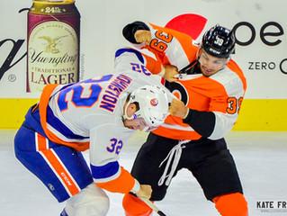 Frese Frame: Philadelphia Flyers vs. New York Islanders, September 17, 2018