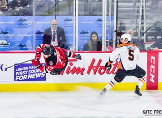Frese Frame: Lehigh Valley Phantoms vs. Binghamton Devils, November 3, 2018