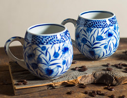 Ten Thousand Villages Coffee Mugs