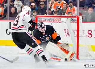 Frese Frame: Philadelphia Flyers vs. Chicago Blackhawks, November 10, 2018