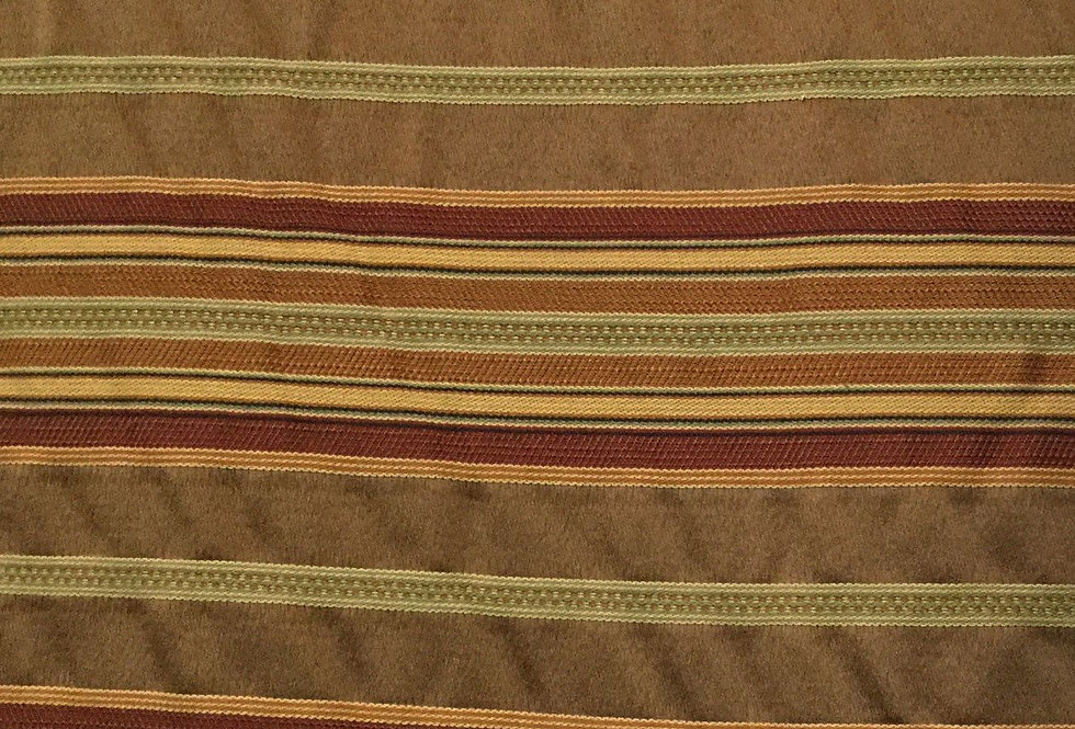 Red, Gold, yellow, Brown Stripe