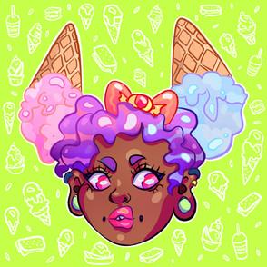 Icecream Hair