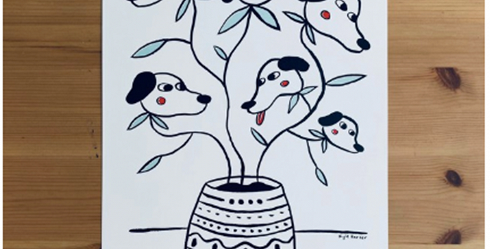 """""""Dog Plant"""" by Kyle Harter"""