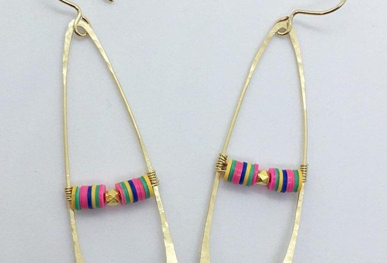 Rainbow Wishbones by Alyse Lattanzio