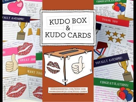 Práticas Management 3.0: Kudo Box