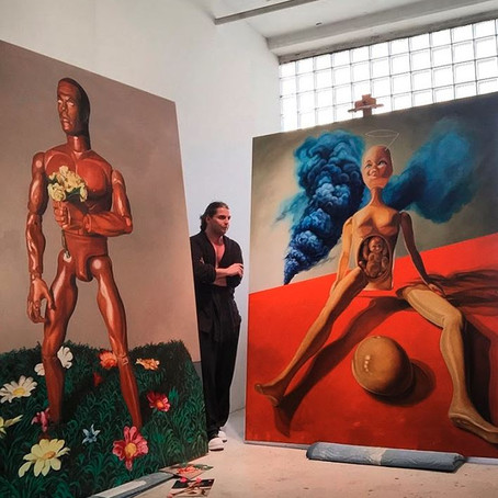 NYC Artist Stef Duffy on Surrealism, Erotica, and the Absurd World