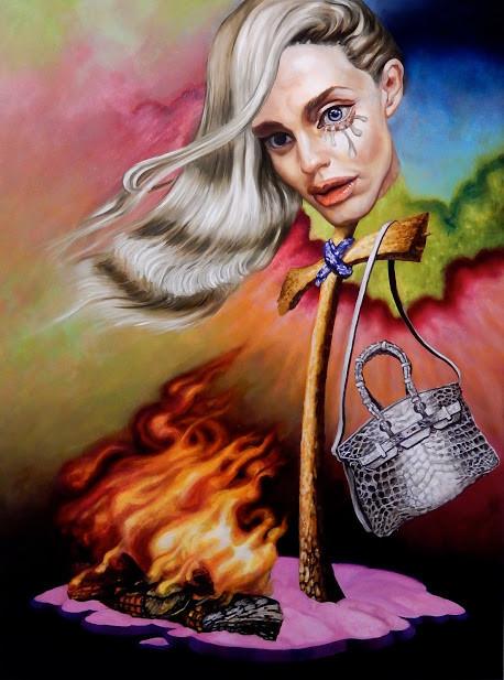 Artwork entitled, 'Berkinhead' by Steff Duffy