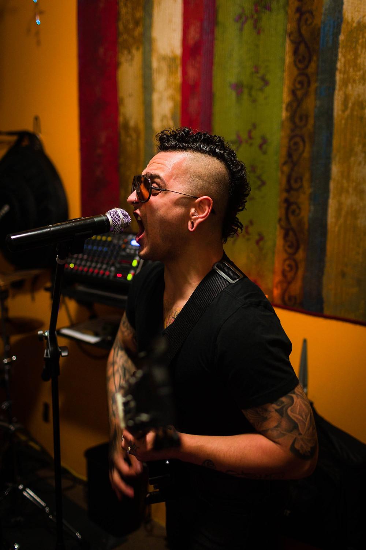 lead vocals guitar band metal punk
