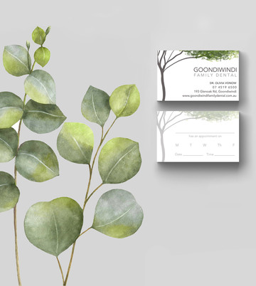 Goondiwindi Family Dental Business Cards