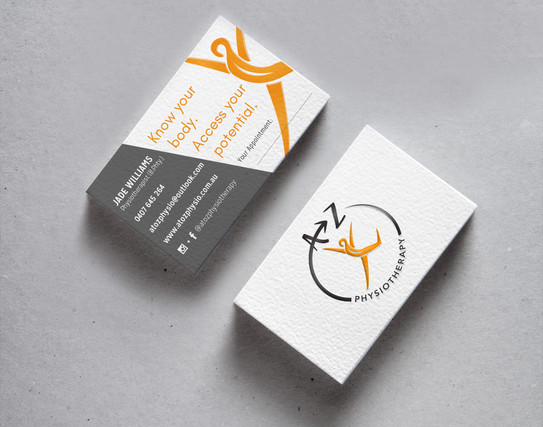 A to Z Logo and Business Cards