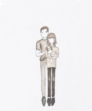 Matt and Cat Illustration
