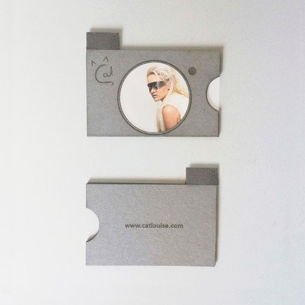 Cat Photography Business Cards