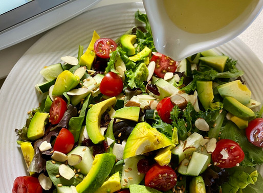 Apple Lime Vinaigrette Salad 🥗