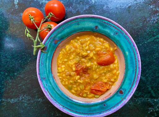 Curried Lentils Recipe 🍅